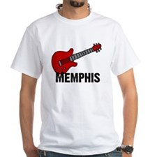 Guitar - Memphis White T-shirt