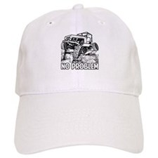 No Problem Rock Crawling Jeep Baseball Baseball Cap