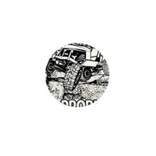 No Problem Rock Crawling Jeep Mini Button (10 pack