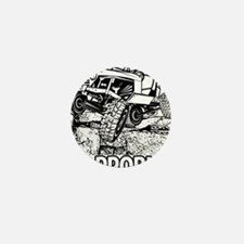 No Problem Rock Crawling Jeep Mini Button