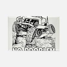 No Problem Rock Crawling Jeep Magnets
