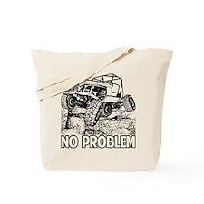 No Problem Rock Crawling Jeep Tote Bag
