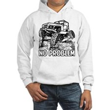 No Problem Rock Crawling Jeep Hoodie