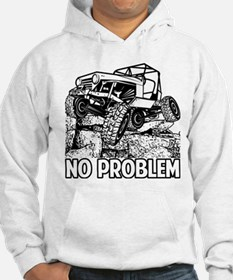 No Problem Rock Crawling Jeep Hoodie