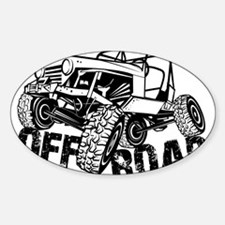 Off-Road Rock Crawler Jeep Decal