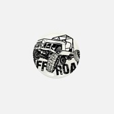 Off-Road Rock Crawler Jeep Mini Button
