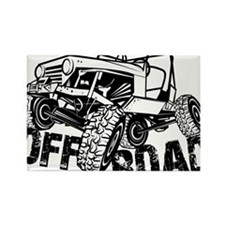 Off-Road Rock Crawler Jeep Magnets