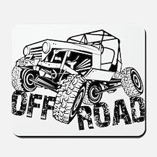 Off-Road Rock Crawler Jeep Mousepad
