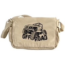 Off-Road Rock Crawler Jeep Messenger Bag