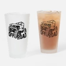 Off-Road Rock Crawler Jeep Drinking Glass