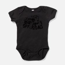 Off-Road Rock Crawler Jeep Baby Bodysuit