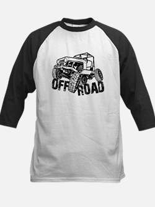 Off-Road Rock Crawler Jeep Baseball Jersey