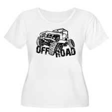 Off-Road Rock Crawler Jeep Plus Size T-Shirt