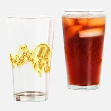 Music4 Drinking Glass