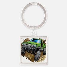 truck-green-crawl-mud Keychains
