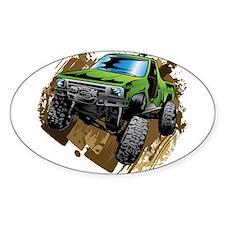 truck-green-crawl-mud Decal