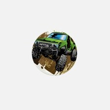 truck-green-crawl-mud Mini Button