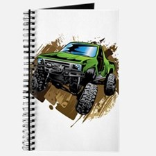 truck-green-crawl-mud Journal