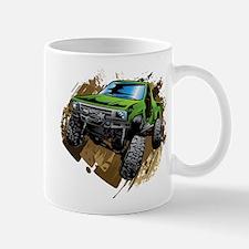 truck-green-crawl-mud Mugs
