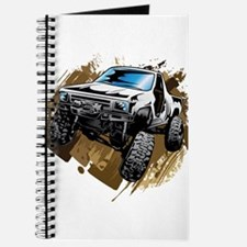 White Muddy Toyota Truck Journal