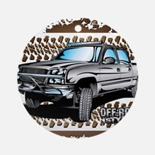 Chevy 4x4 Z71 Shirt Ornament (Round)