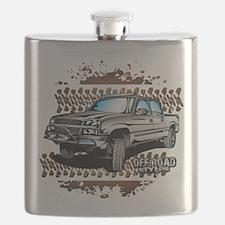 Chevy 4x4 Z71 Shirt Flask