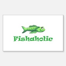 FISHAHOLIC Decal