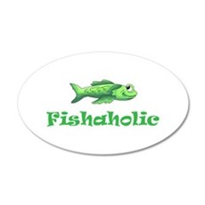 FISHAHOLIC Wall Decal