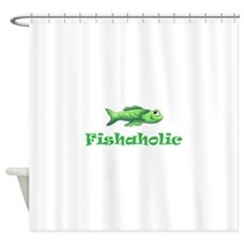 FISHAHOLIC Shower Curtain