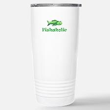 FISHAHOLIC Travel Mug