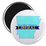 True Blue Arkansas LIBERAL Magnet