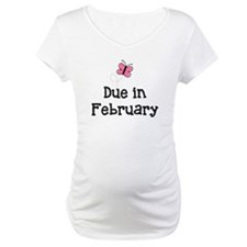 Due in February Butterfly Shirt