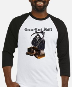 Grave Yard Shift Baseball Jersey