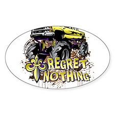 Mud Trucks Regret Nothing Bumper Stickers