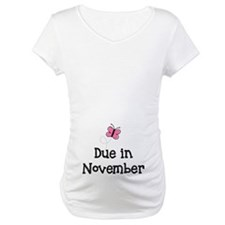 Due in November Butterfly Shirt