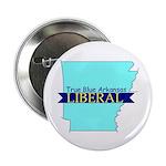 """2.25"""" Button (10 pack) True Blue Arkansas LIBERAL"""