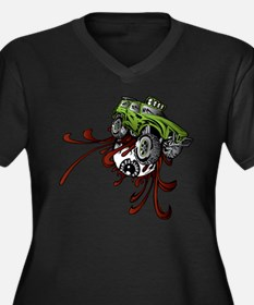 Deadball Rupture Truck Plus Size T-Shirt