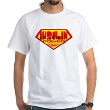 Insulin Power White T-shirt
