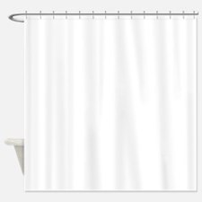Trophy Truck Racing White Shower Curtain