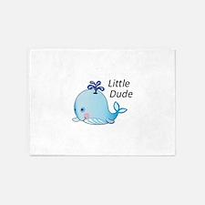 Little Dude 5'x7'Area Rug
