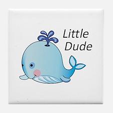 Little Dude Tile Coaster