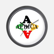 A FOR AFRICA Wall Clock