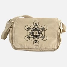 Metatron Cube Messenger Bag