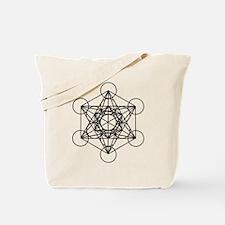 Metatron Cube Tote Bag