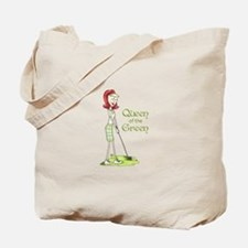 Queen Of The Green Tote Bag