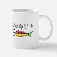 SHUT UP & FISH Mugs