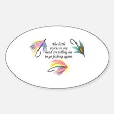 VOICES IN MY HEAD Decal