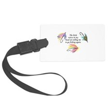VOICES IN MY HEAD Luggage Tag