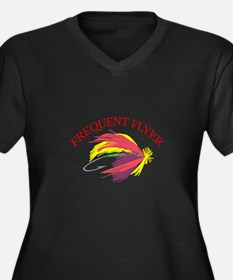 FREQUENT FLYER Plus Size T-Shirt