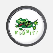 Ribbit! Wall Clock